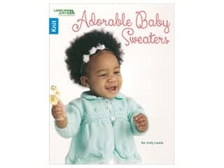 yarn: Leisure Arts Adorable Baby Sweaters Book