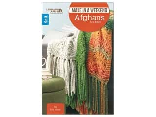 books & patterns: Leisure Arts Make In A Weekend Afghans To Knit Book