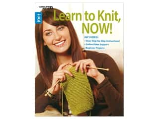 Leisure Arts Learn To Knit Now Book