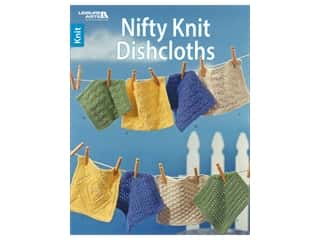 Leisure Arts Nifty Knit Dishcloths Book