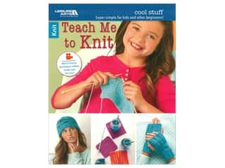 books & patterns: Leisure Arts Teach Me To Knit Book