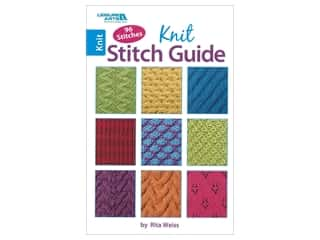 Leisure Arts Knit Stitch Guide Book