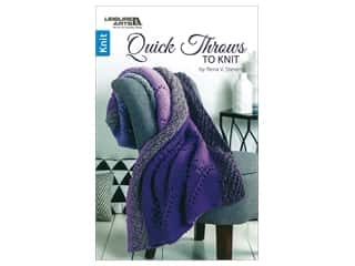 Leisure Arts Quick Throws to Knit Book