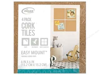 craft & hobbies: The Board Dudes Cork Tile 6 x 6 x 3/16 in. 4 pc.