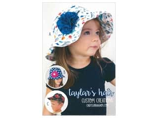 books & patterns: Custom Creations Taylor's Hats Pattern