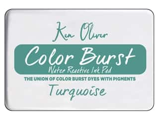 Contact Crafts Ken Oliver Color Burst Pad Turquoise