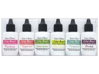 Contact Crafts Ken Oliver Color Burst Reinker 6pc Brights