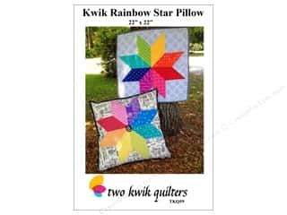 books & patterns: Two Kwik Quilters Kwik Rainbow Star Pillow Pattern