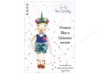 books & patterns: Sew Quirky Dream Like A Unicorn Doll Outfit Pattern