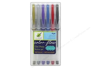 scrapbooking & paper crafts: Multicraft Pens Color Flow Gel Set Metallic