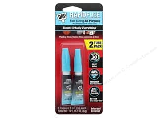 DAP All Purpose Adhesive RapidFuse .1 oz Clear 2 pc