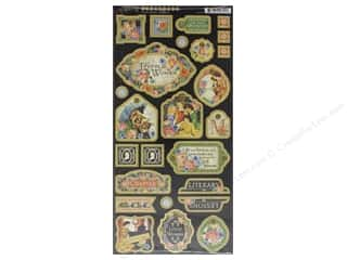 scrapbooking & paper crafts: Graphic 45 Collection Little Women Chipboard
