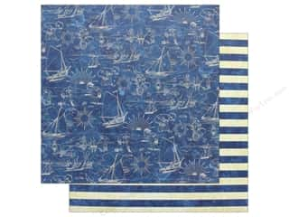 Graphic 45 Collection Sun Kissed 12 in. x 12 in. Sail Away (25 pieces)