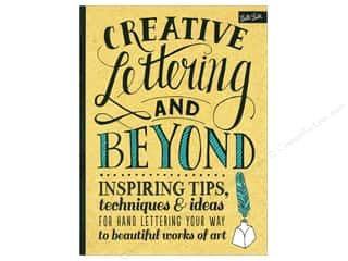 books & patterns: Walter Foster Creative Lettering and Beyond Book