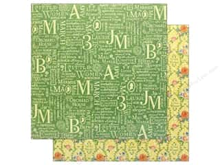 Graphic 45 Collection Little Women Paper 12 in. x 12 in. Orchard House (25 pieces)