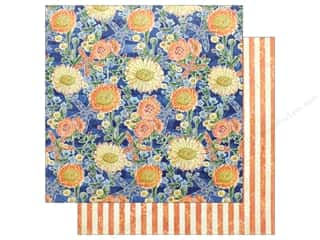 "Graphic 45 Collection Sun Kissed 12""x 12"" Floating Floral (25 pieces)"