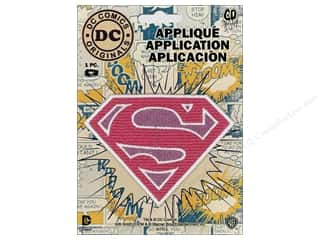 C&D Visionary Applique Supergirl Logo Pink