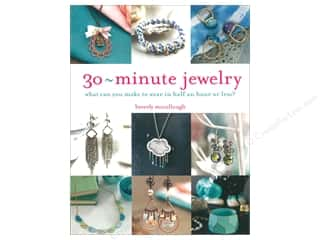 beading & jewelry making supplies: Barron's 30 Minute Jewelry Book