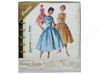stickers: Simplicity Notions Vintage Sewing Planner Kit (2 sets)