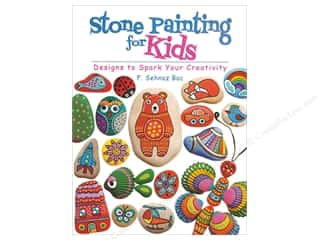 Dover Publications Stone Painting for Kids Book