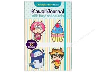 elastic: Get Creative 6 Kawaii Journal With Hugs On The Side Book