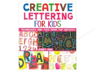 books & patterns: Creative Lettering for Kids Book