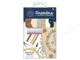 sewing & quilting: Crafter's Companion Threaders Embroidery Stranded Cotton - Essentials