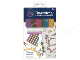 yarn & needlework: Crafter's Companion Threaders Embroidery Stranded Cotton - Vintage