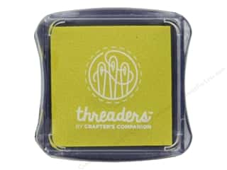 scrapbooking & paper crafts: Crafter's Companion Threaders Fabric Ink Pad Canary