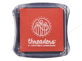 craft & hobbies: Crafter's Companion Threaders Fabric Ink Pad Orange