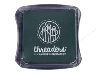 scrapbooking & paper crafts: Crafter's Companion Threaders Fabric Ink Pad Green
