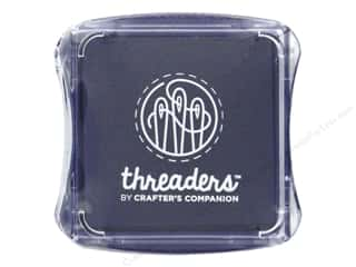 scrapbooking & paper crafts: Crafter's Companion Threaders Fabric Ink Pad Violet