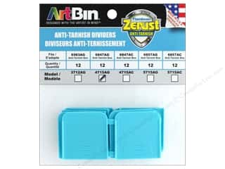 beading & jewelry making supplies: ArtBin Zerust Anti-Tarnish Divider Pack 12 pc. (3 pieces)