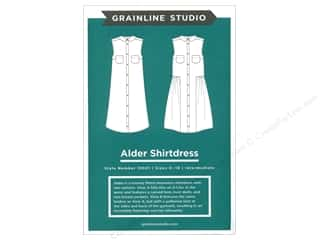 GrainLine Studio Alder Shirtdress Pattern