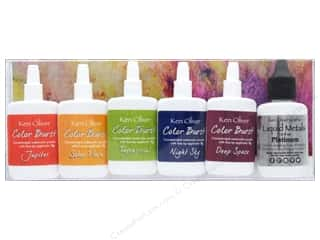 craft & hobbies: Contact Crafts Ken Oliver Color Burst Set 6 pc Galaxy