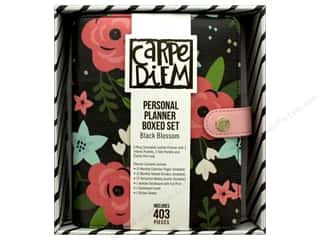 Simple Stories Carpe Diem Personal Planner Boxed Set Bloom Black Blossom