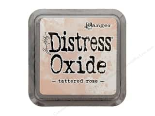 stamps: Ranger Tim Holtz Distress Oxide Ink Pad Tattered Rose