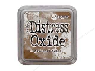 stamps: Ranger Tim Holtz Distress Oxide Ink Pad Gathered Twigs