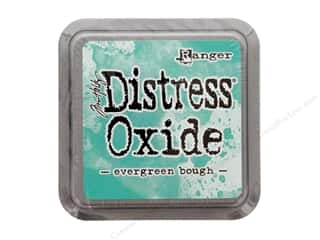 stamps: Ranger Tim Holtz Distress Ink Pad Oxide Evergreen Bough