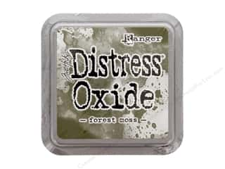 ink pad: Ranger Tim Holtz Distress Oxide Ink Pad Forest Moss