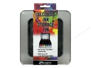 ranger alcohol ink kit: Ranger Tim Holtz Alcohol Ink Storage Tin