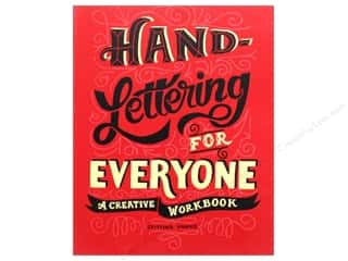 books & patterns: Perigee Hand Lettering For Everyone Book