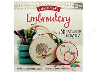 books & patterns: That Patchwork Place Lunch Hour Embroidery Book