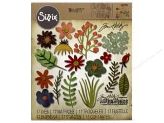 Sizzix Tim Holtz Thinlits Die Set 17 pc. Funky Floral #1