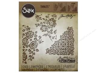 Sizzix Tim Holtz Thinlits Die Set 3 pc. Mixed Media #5