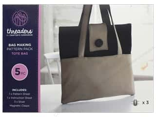 books & patterns: Crafter's Companion Threaders Bag Making Kit Tote Bag