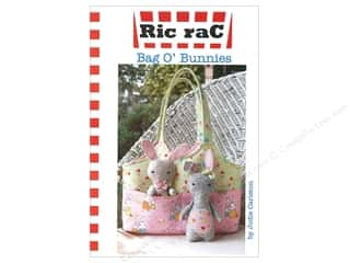 books & patterns: Ric Rac Bag O Bunnies Pattern