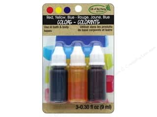 craft & hobbies: Life Of The Party Liquid Colors Set Red Yellow Blue