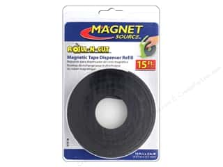 craft & hobbies: The Magnet Source Roll-N-Cut Magnetic Tape Refill Roll