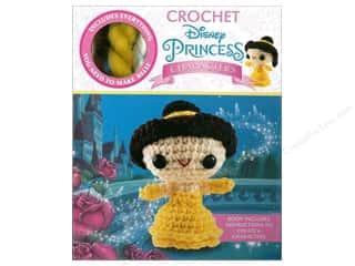 yarn & needlework: Thunder Bay Press Kit Disney Princess Belle Crochet Kit